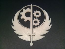Brotherhood Of Steel Emblem by skynetbeta