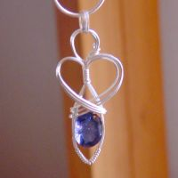 Iolite Goddess in Silver by innerdiameter