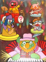 Electric Mayhem by YourFathersMustache