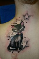 kitty by alphatattoo