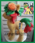 my little pony plush commissin YUYA by CINNAMON-STITCH