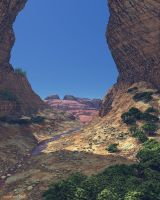 At the bottom of the canyon by slepalex