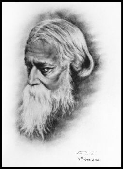 Rabindranath Tagore by enigmatic-freak