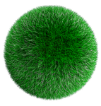 Free Stock Grass Ball by mixmedia87