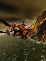 Dragon Riders by gerberc