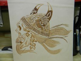 VikingSkull by TradArcher