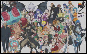 One Piece x Fairy Tail Version 3 by Negator7
