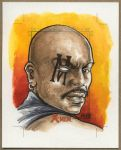BISHOP, X-Men Sketch Card by Erik-Maell
