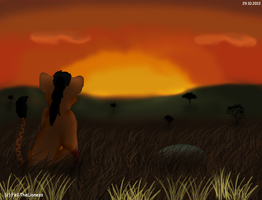 Sunset - gift by M-WingedLioness