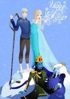 Happy winter team New Year by Chouly-only