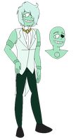 Mint Green Chalcedony: SU Gem OC by Bre-Bre-Chan