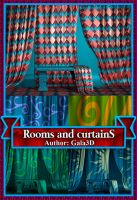 3D Graphics rooms and fabric curtains by Gala3d