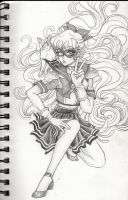 Codename: Sailor V by KaytlinBakerArt