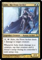 MtG - Ashe, the Frost Archer by soy-monk