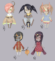 Adopts::Demon weirdos CLOSED by Pandastrophic