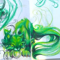 Sketch - Toxikitty, Acid Terror Version by amymiu
