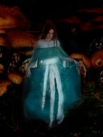 Alice in the Mushroom forest by Alice-fanclub