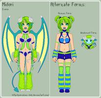 DD - Midori Reference Sheet by porcelian-doll