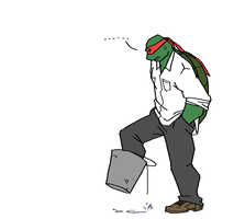 TMNT: Raph forgot the... by student-yuuto