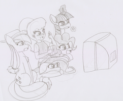 04StartyOnlineBC88's Request : Fun with ponies by TheWanderer93