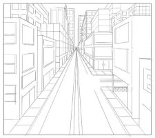 1 point perspective by vvincentt