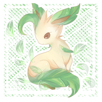 .leafeon by Effier-sxy