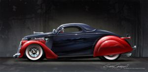 1936 Ford Traditional Custom by GaryCampesi