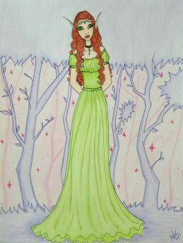 Elf by Mely14Arts