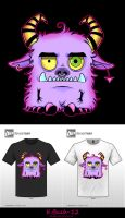 Cute Monster Contest Entry by BlueUndine