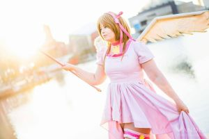 Cardcaptor Sakura Sealed Card Play Dress by MEW21 by MEW21