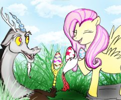 Fluttercord Egg hunt by Selinelle