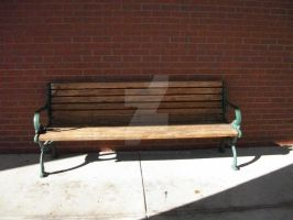 Lonely Old Bench by NewYorkArtistFrancis