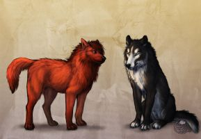 Shade And Darcus by LeoNoy