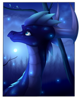 Forest Of The Night - commission by IcelectricSpyro