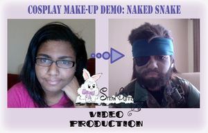 Naked Snake Make-up Demo by SnowBunnyStudios