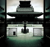 Japanese architecture by TheWhiteInTheBlack
