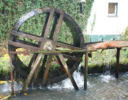 old Water Mill4 by Susannehs