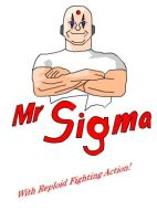Mr. Sigma, erm Mr clean? by omegasigma