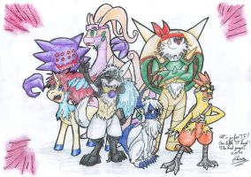 TF Poke Group by Shiiriru