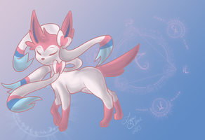 Sylveon by LupusSilvae