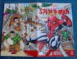 SPIDERMAN vs THE SINESTER SIX sketch cover by mdavidct