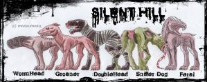 Hell Dogs + Silent Hill + by marikimaru