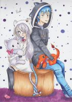 Yumi and Tilo by CrystalMelody-FT