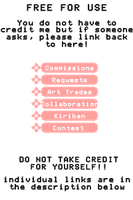 Status Buttons: Pink Floral Theme by Imouto-Thi