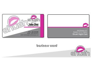 Night Club Business Card by punks101