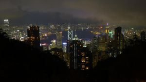 Hong-Kong - View from the peak by livenover