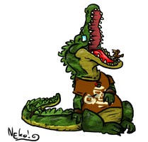 Alligator Dentist by Heros-Shadow