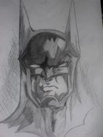 batman by mohamed-elsayad