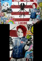 Danger Days- Wall Painting by GeeFreak