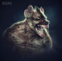 Hyena man by CGPTTeam